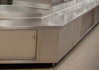 Palatine, IL Stainless Steel Kitchen Cabinets
