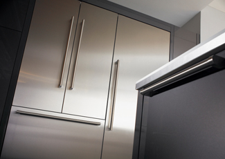 Naperville, IL Stainless Steel Kitchen Cabinets