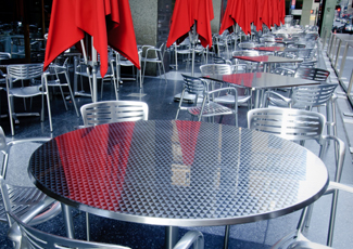 Oak Park, IL Stainless Steel Table