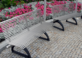 Lombard, IL Stainless Steel Benches